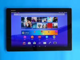 sony xperia z4 tablet. sony xperia z4 tablet review