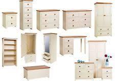 cream bedroom furniture. Jamestown Cream \u0026 Oak Quality Country Farmhouse Bedroom Furniture