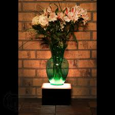 Lighted Display Stand For Glass Art LED Display Stand 100 x 100 x 100 Lighted Glass Art Display 31