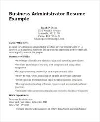 Sample Resume Business Owner 20 Business Resume Templates Pdf Doc Free Premium Templates