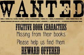 the fugitive book characters scavenger hunt at the wichita falls public library kids located fugitive
