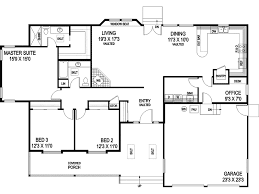 Riva Ridge Country Ranch Home Plan D    House Plans and MoreTraditional House Plan First Floor   D    House Plans and More