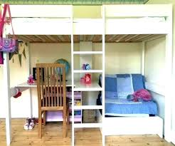 decoration bunk bed with desk underneath sofa loft beds desks and couch