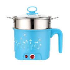 1.5/1.8L Điện Mini Nồi CN Cắm Nước Phở Điện Nấu Lẩu Hấp Nồi Và Chảo Nồi vật  Dụng Nhà Bếp|