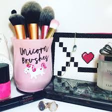unicorn brushes holder makeupdiy