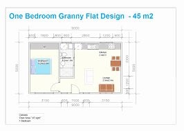 single story house plans with granny flat best of e bedroom house plans in south africa