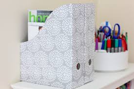 Magazine File Holder Dollar Store My Latest Organizing Finds at the Dollar Store 2