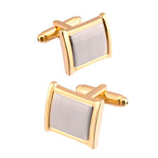 2019 <b>QiQiWu</b> Cufflinks For <b>Mens</b> Shirt Wedding High Quality Gold ...