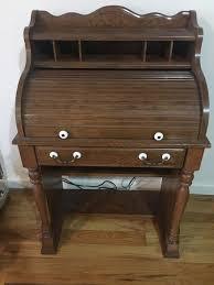 Image Workspace Trove Market Vintage Rolltop Desk