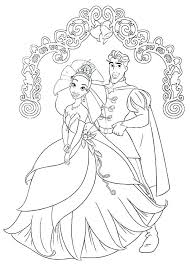 princess tiana coloring page princess and the frog coloring pages princess coloring page prince and princess