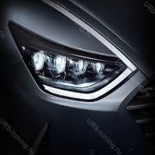 <b>Передняя светодиодная Led фара</b> Hyundai Sonata 2019+ (DN8 ...