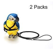 Adjustable Parrot Bird Harness Leash - VIPpet Anti ... - Amazon.com