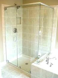 shower door seals and sweeps sweep why you should get a frameless shower door glass installation