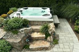 Hot Tub Backyard Ideas Plans New Decorating Design