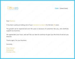 sample of appreciation letter customer thank you letter 5 best samples and templates