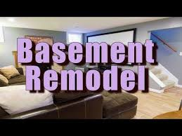 Basement Remodel Contractors Interesting Decorating