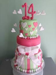 birthday cake for teen girls 14. Contemporary Girls My 3 Tiered Birthday Cake For A 14 Year Old Girl With Birthday Cake For Teen Girls