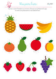 Ma Petite Dinette Les Fruits Momes Net