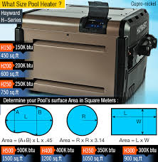 What Size Pool Heater Do I Need Guide On How To Size A Pool