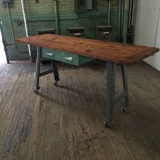 Industrial Kitchen Island Reclaimed Wood Hundred Acre Design
