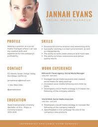 canva modern resume templates orange photo modern resume templates by canva