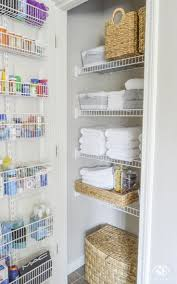 Hallway Linen Storage Ideas Linen Closet Laundry Room Makeover linenstorage organized laundryroom Pinterest 10 Exquisite Linen Storage Ideas For Your Home Decor Storage
