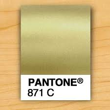 Gold Ink Pms 871 The Prettiest Pantone Gold Which Looks