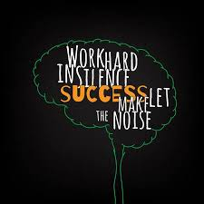 Work Hard In Silence Success Let Make The Noise Motivation Clever