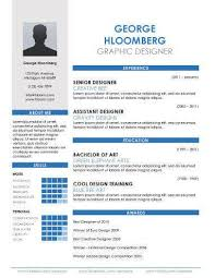Graphic Resumes Templates 17 Infographic Resume Templates Free