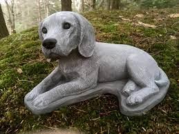 beagle statue concrete dog statues