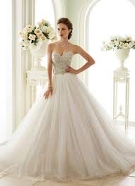 10 strapless wedding dresses 2016 that show your collarbone