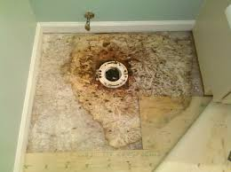 soft spots on the floor water damage
