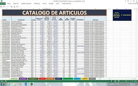 Inventario Excel Inventario En Excel Rapael