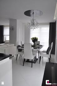 set with tall dining room tables jadalnia styl glamour zdjÄ cie od cube interior design jadalnia of