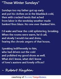 best poetry images poem writers and literature those winter sundays by robert hayden