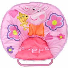 Peppa Pig Bedroom Furniture Peppa Pig Mini Saucer Chair Walmartcom