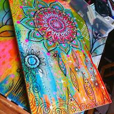 Art Pieces Boho Art Robin Meads Art Blog