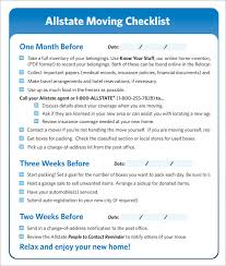 Moving Checklist 9 Download Free Documents In Pdf