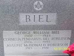 "Fannie Cornelia ""Neely"" Pendarvis Biel Roberson (1906-1997) - Find A Grave  Memorial"
