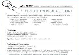 Medical Assistant Resume Skills Stunning 4114 Resume Of A Medical Assistant Resume Medical Assistant Skills For