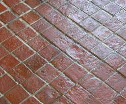 when used indoors terracotta tile floors can be left untreated but usually terracotta is finished with a top coat sealer some terracotta tiles are