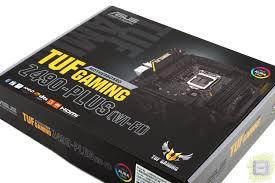 Обзор <b>материнской платы ASUS TUF</b> Gaming Z490-Plus Wi-Fi