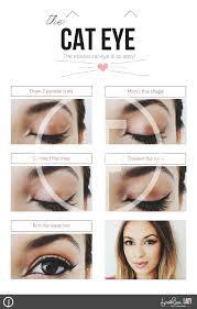 the elusive cateye makeup