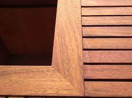 kwilla bench seat with cedar planter box