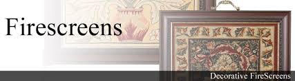 decorative tapestry firescreens