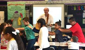 april 5 2019 robert had a fantastic time with the students at ham park elementary