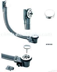 bathtub drain stopper removal how