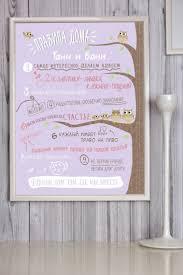 Купить <b>Постер в рамке</b> с Вашим текстом и фото Правила дома ...