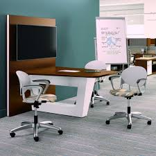 office conference room. National Office Furniture, Mio Collaborative Tables Conference Room C