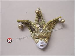 Miniature Masquerade Masks Decorations Majora's Mask Mask Authentic Made In Italy Venetian Mask Miniature 56